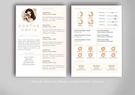 Resume Template For Ms Word Templates Creative Market Microsoft Cv