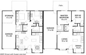 Stunning Small House Plans With Garage Attached Ideas  Best Small Home Plans With Garage