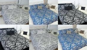 blue damask bedding damask silver black white blue king queen quilt doona duvet cover blue damask blue damask bedding