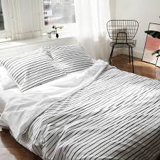 Best 25+ Cotton duvet covers ideas on Pinterest   Duvet covers ... & cotton duvet cover read between the lines, black and white bedding, crisp  cotton bedding Adamdwight.com