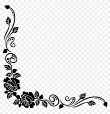 Free Download Black Rose Best Borders Flower Bouquet Roses