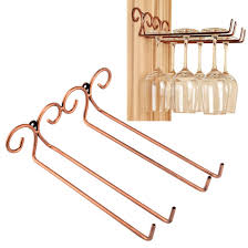 Wine Glass Hangers Under Cabinet Shop Amazoncom Stemware Racks