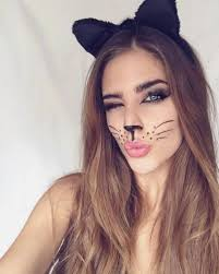 easy cat face makeup for