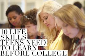 Teens Collage 10 Life Skills Teens Should Know Before Going To College