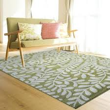 Bright Area Rugs Soft Comfortable And Rug Green Solid Red