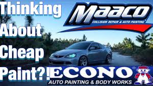 Watch This Before Macco Paint Or Econo