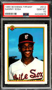 But as his career progressed and the home runs kept piling up, he turned into one of the most popular players in the league. Sammy Sosa Rookie Card Best 3 Cards Value And Investment Outlook