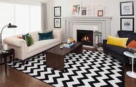 3black white striped area rugs