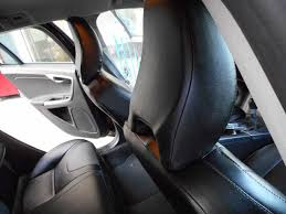 volvo v60 front seat covers in leather effect