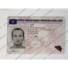 Sale Online Real Licence Novelty Buy Of License Online For Drivers Belgian Fake Belgium Driver's Driving Original
