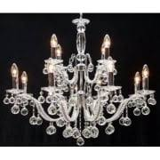 fantastic lighting chandeliers. mozart 600/12+6 chrome with beaded arm \u0026 ball trimmings chandelier. fantastic lighting chandeliers 1