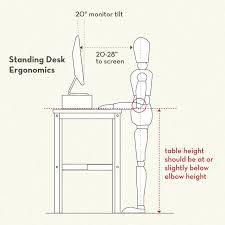 large size of office desk height ergonomics standing setup standard australia