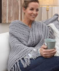 Redheart Free Crochet Patterns Best Shawls For All Occasions Red Heart