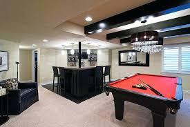 basement pool table. Basement Bar And Pool Table Room Ideas E