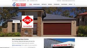 ians garage door centre peter miller sites design