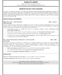 Medical Administration Resume Examples Administrative Specialist