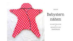 Anleitung Babystern Nähen Handmade Kultur