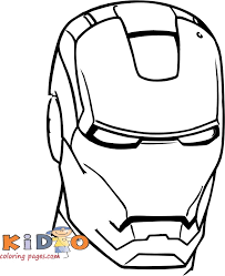 Discover all our printable coloring pages for adults, to print or download for free ! Pictures To Color Iron Man Head Kids Coloring Pages