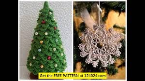 Free Crochet Christmas Tree Patterns Enchanting Christmas Tree Crochet Pattern YouTube