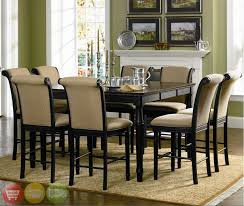 Countertop Dining Room Sets With good Two Tone Counter Height