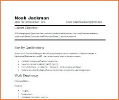 The Best Objective For Resumes Best Career Objective Sample For Resume Caregiver No Experience Free