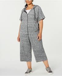 Id Ideology Size Chart Plus Size Cropped Hoodie Created For Macys