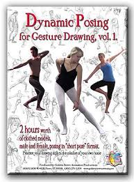 dynamic posing for gesture drawing