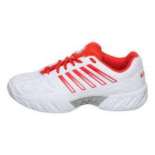 K Swiss Big Shot Light 3 All Court Shoe Women White Red