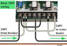 how to wire ge 15207 timer more ways to wire for 240volt