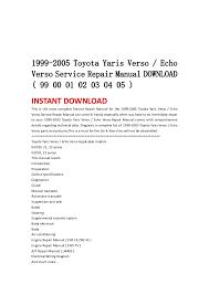 Toyota camry 2002 2003 2004 2005 2006 diy service repair manual dow…