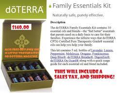 Doterra Family Physician Kit 10 5ml Oils Ebay