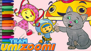 Team Umizoomi Coloring Book Episode 17