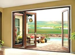 cost to replace glass in sliding patio door with screen