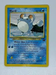 POKEMON MARILL ENGLISH TOURNAMENT 50 HP BLACK STAR RARE PROMO CARD #29  Pokémon Individual Cards schi-brettl-werkstatt Toys & Hobbies