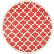 courtyard red bone 8 ft x 8 ft indoor outdoor round area