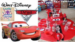 Lightning Mcqueen Birthday Party How To Make Party Accessories Mcqueen For Birthday Party Ideas Of Handmade Accessories