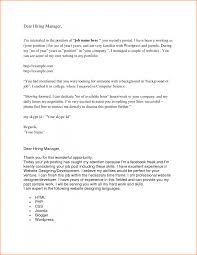 Cover Letter Format With No Addressee Professional How To Address A