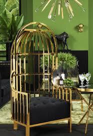 Gold Birdcage Chair | Eichholtz Bora Bora