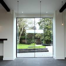 frameless design sliding door