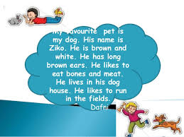 essay about dog my favorite animal essay hi my favorite animal view larger