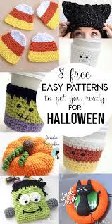 Crochet Halloween Patterns Simple Decorating Ideas