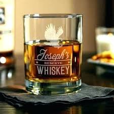 glencairn glass personalized monogrammed whiskey glasses engraved monogram scotch glass etched custom engraved whiskey glasses glencairn