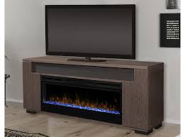 haley electric fireplace media console by dimplex