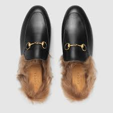 gucci slippers. gucci princetown leather slipper detail 3 slippers a