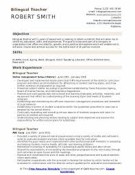 Bilingual Teacher Resume Samples Qwikresume