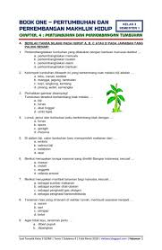 Pilihlah jawaban a, b, c, atau d dengan memberi tanda silang pada jawaban yang benar ! Download Soal Dan Kunci Tanggapan Tematik Kelas 3 Semester 1 Tema 1 Subtema 4 Pertumbuhan Dan Perkembangan Makhluk Hidup Pertumbuhan Dan Perkembangan Flora Edisi Revisi 2019 Dunia Edukasi