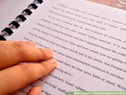 how to handle a writing assignment at work steps image titled handle a writing assignment at work step 8bullet1