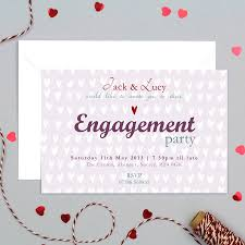moo invitations personalised engagement party invitation by molly moo designs