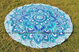 cool beach towel designs. Cool Beach Towels Round Blankets Boho Mandala Bedspread Throw-Jaipur Handloom Towel Designs