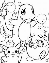 Small Picture Pokemon Coloring Pages For Kids Free Desktop Coloring Pokemon